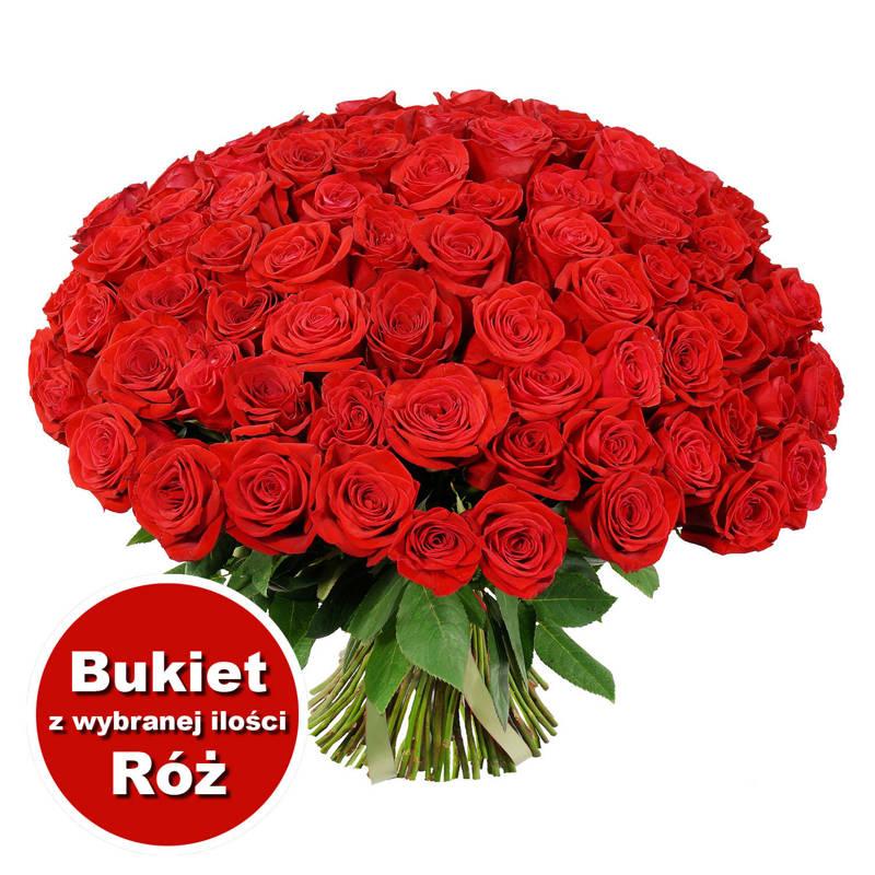 Bukiet 63 Róż