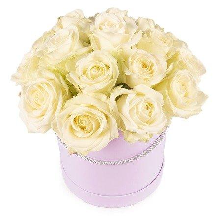 "Flower Box ""Białe róże"""