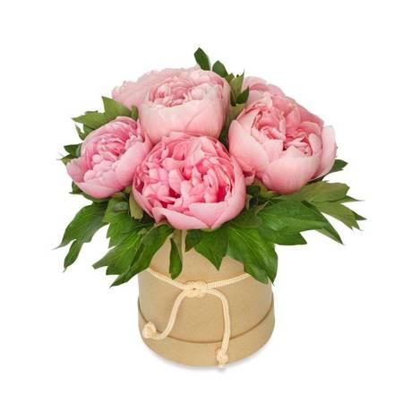 """Flower Box """"Pełen Piwonii"""""""